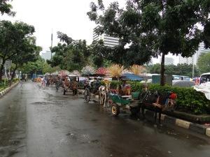 Džakarta, Indonezija, kelionė, Jakarta, Indonesia, travel, centras, miesto, center, city, Merdeka, aikštė, square, National, Monument