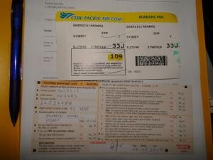 Australia, Cebu Pacific, Australija, kortelė, imigracijos, immigration, card
